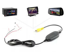 12V 2.4G Wireless Transmitter & Receiver for Auto Car Reverse Rear View Camera #