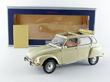 Norev 1970 Citroen Dyane 6 Creme Color in 1/18 Scale. New Release! In Stock!