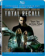 Total Recall [3 Discs] [Includes Digit (2012, Blu-ray NEUF) BLU-RAY/WS3 DISC SET