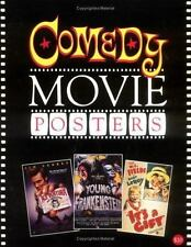 COMEDY MOVIE POSTERS BOOK 1914-2000 BRUCE HERSHENSON CHAPLIN KEASTON CARREY OOP