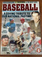 Baseball 100 Years of Baseball Collectable Magazine 1999