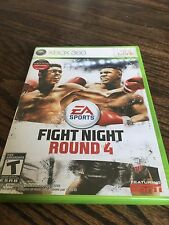 Fight Night Round 4 Xbox 360 Cib Game XG1