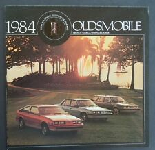 1984 Oldsmobile Firenza Omega Firenza Cruiser Dealer Sales Brochure