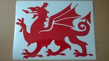 LARGE car bonnet wales welsh dragon vinyl van side sticker wall art decal graphi