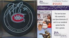 Patrick Roy Autographed Signed Montreal Canadiens Official Game Puck (JSA)