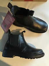 BNIB Older Boys Sz US 1.5 Thomas Cook Romper Black Leather School Boots RRP $80