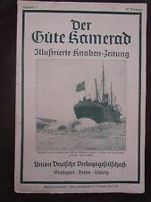 Der gute Kamerad 1928 Wal Walfischfang Karl Pommerhanz Eisenbahn Kapstadt Kairo