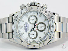 Rolex Daytona Cosmograph Stainless Steel Chronograph Watch, Ref 116520 Year 2005