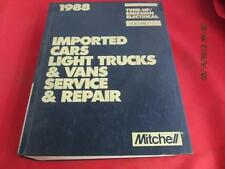 1988 Mitchell Manual Imported Cars Light Trucks & Vans Service & Repair