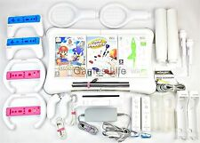 Wii Fit Nintendo Console and Wii Fit Board PLUS Sports Packs  Remotes  Nunchucks