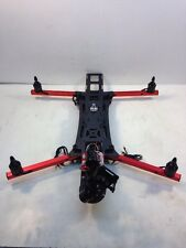 Custom Carbon Folding Quad Copter Drone W/ Motors And 3 Axis Gimbal ARF