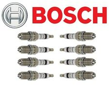 Platinum+4 Yttrium-Enhanced Bosch Set of 8 Spark Plugs 4418 Brand NEW