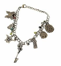 BLACK BUTLER ( 7 Themed Charms) Assorted Metal Charm BRACELET