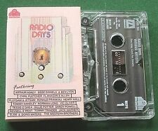 Radio Days Music Speech Clips prod by Kevin Daly Cassette Tape - TESTED