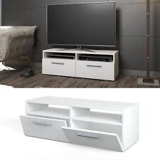 Mobile porta TV lowboard mensola armadio credenza scaffale bianco lucentezza