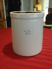 Robinson Ransbottom stoneware crock with crown 3 USA