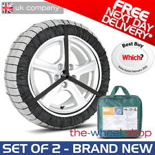 Silknet 70 Car Snow Socks Large - 195/80 R14 / 195 80 14 Tyre - Free Delivery