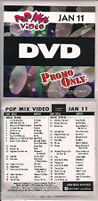 Promo only video pop mix january 2011 BRUNO MARS the cure NELLY culture club
