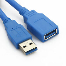 USB 3.0 Type A M to A F Super Speed Cable Extension Lead 0.5m