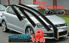 VW POLO 5 Doors 2009- Wind Deflectors 4 pcs. HEKO (31178)
