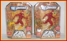 DC UNIVERSE CLASSICS - 75 YEARS ALL-STAR LOT OF 2 - FLASH - REG. & TRU EXC. MOC