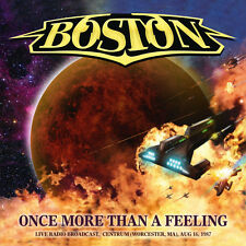 BOSTON - Once More Than A Feeling (Live Radio Broadcast 1987) - 2CD - 732054