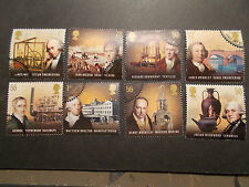 GB 2009 Commemorative Stamps~Pioneers~Very Fine Used Set~UK Seller