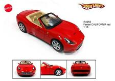 HOTWHEELS FERRARI CALIFORNIA RED ROSSA 1:18 R3255**Back in Stock!!