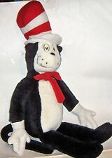 """Cat in the Hat Dr. Suess  30"""" Stuffed Animal Plush made for Macy's 1995  vintage"""