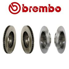 NEW Acura TL 1999-2008 Complete Front and Rear Disc Brake Rotor KIT Brembo