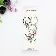 """""""I love you"""" Couple Key Chain Ring Keyring Keyfob For Lover Heart And Key K8"""
