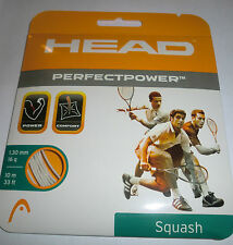 COVER HEAD perfetto Power Squash Stringa-Bianco