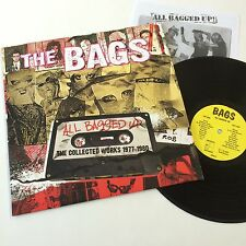 The Bags All Bagged Up Collected Works 1977-1980 Vinyl LP Record! punk rock NEW!