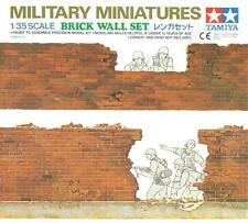BRICK WALL SET #35028 1/35 TAMIYA