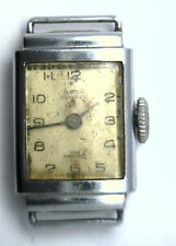 Antique SOLVIL Swiss 15 Jewel Wrist Watch & Case For Parts or Repurpose W160