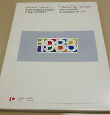 1983 complete year set Collection of the mint Postage Stamps of Canada Canadian