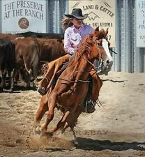 Cowgirl photograph Art Picture home decor animal western rodeo print photo horse