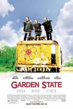 GARDEN STATE orig DS movie poster '04 one sheet AUTHENTIC The Shins