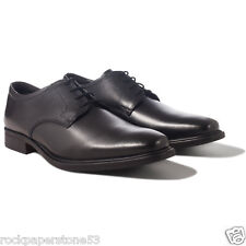 Redfoot Black Leather Gibson Derby Lace Up Gents Shoes UK 12/Euro 46  RRP £140