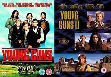 YOUNG GUNS COMPLETE COLLECTION PART 1 2  Emilio Estevez  NEW & SEALED UK R2 DVD