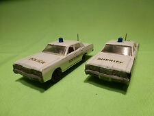 LESNEY 55 - 73 MERCURY 2x - STATE POLICE + HIGHWAY PATROL -  GOOD CONDITION