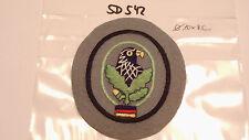 Bundeswehr TTA Scharfschützen Abzeichen auf grau Offizier große Form (sd542)