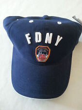 FDNY FIRE DEPARTMENT NEW YORK Baseball Cap HAT WORLD TRADE CENTER NYC 9-11