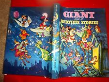 RARE 1973 Vintage HC/DJ WALT DISNEY'S GIANT BOOK OF BEDTIME 100+ STORIES Scrooge