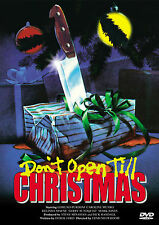 DON'T OPEN TILL CHRISTMAS - DVD UNCUT MOVIES - HORREUR - SLASHER-CAROLINE MUNRO