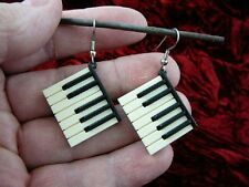 (M-322-D) little mini Piano Keys KEYBOARD EARRINGS JEWELRY key pianos EARRING