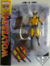 "WOLVERINE (X-MEN) Marvel Select 7"" inch Action Figure with Base 2013"