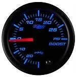 Tinted 7 Color 30 PSI Boost/Vacuum Gauge
