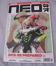 Neo Magazine issue 106 (February 2013) UK Anime, Asian, Manga mag