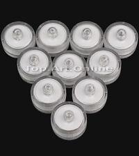 10 bougies chauffe-plat submersible étanche flotteur LED rond décoration mariage